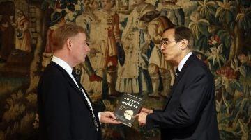 El ingeniero José Luis Cordeiro y el matemático David Wood