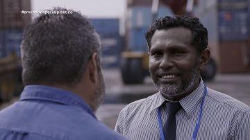 Ibrahim Riyaz, jefe de operaciones en el Puerto de Maldivas