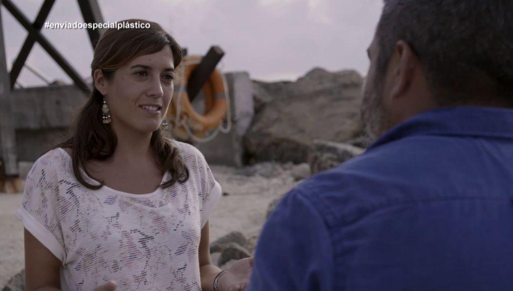 Sonia Valladares, bióloga marina, en Enviado especial