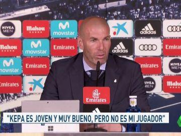 """Zidane: """"No podemos estar contentos, ahora defenderemos a muerte nuestro trofeo en la Champions"""""""