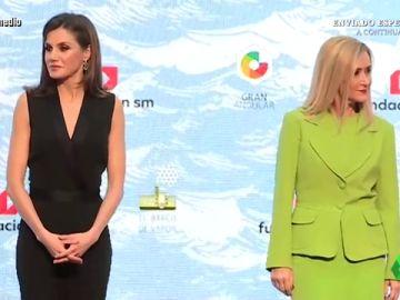 La reina Letizia y Cristina Cifuentes