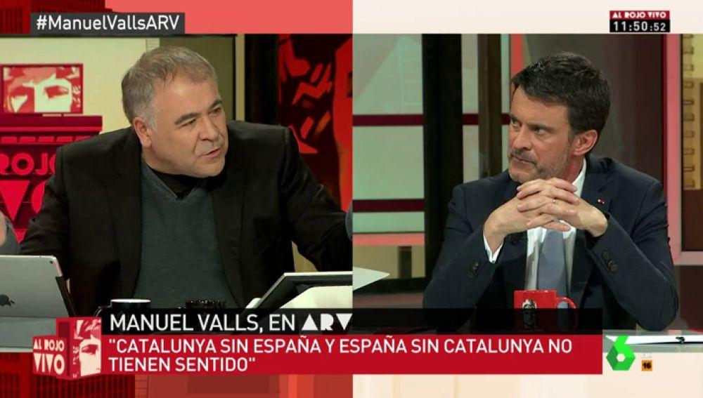 El exprimer ministro de Francia, Manuel Valls