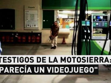 Ataque con motosierra en Girona