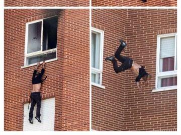 El hombre que ha asesinado a su expareja y a su madre salta por la ventana