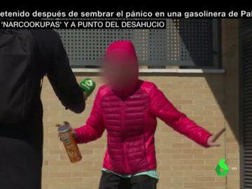 Una persona llega al narcopiso de Valladolid