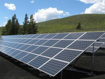 Paneles solares para crear energía