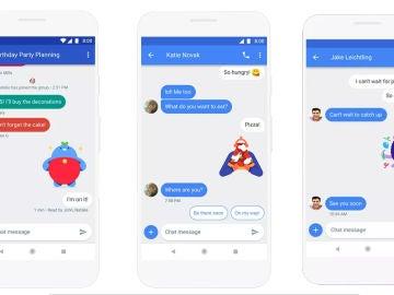 Chat, lo nuevo de Android