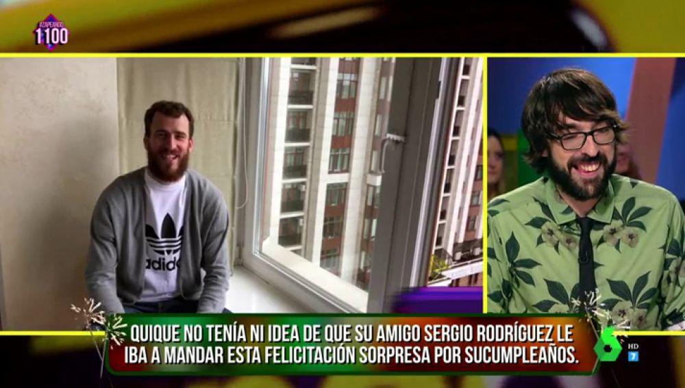 Sergio Rodríguez y Quique Peinado
