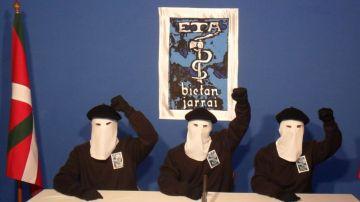 Miembros de ETA en una imagen de archivo