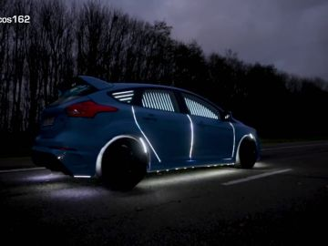 Ford Focus RS con luces LED