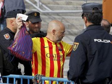 Cacheos previos a la final de la Copa del Rey
