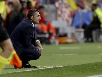 Valverde, durante la final de la Copa del Rey