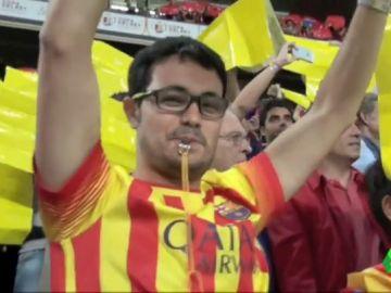 Organizaciones independentistas llaman a realizar una sonora pitada durante el himno de España en el Metropolitano