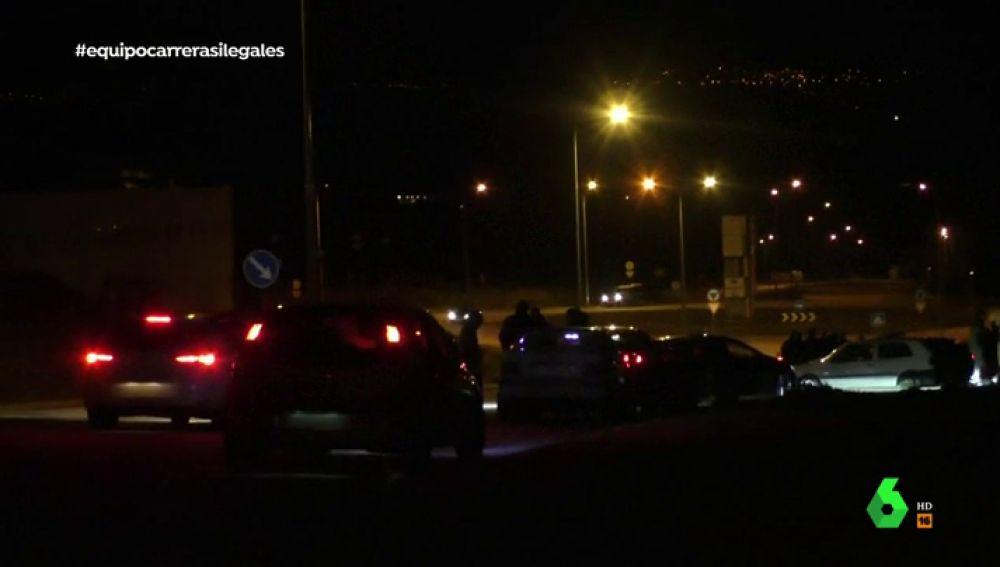 El circuito clandestino de Verín: Equipo de Investigación graba una noche de carreras ilegales