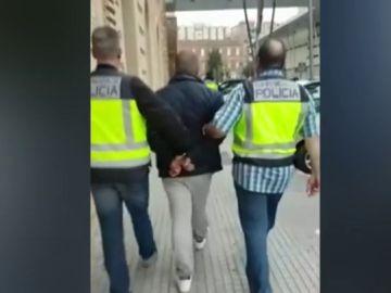 Imagen del detenido en Algeciras