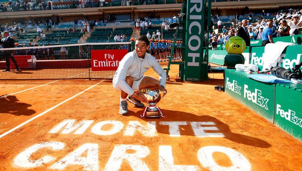 Nadal, con su 11º trofeo de campeón de Montecarlo
