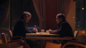 Jordi Évole con Rafael López Ocaña en Salvados