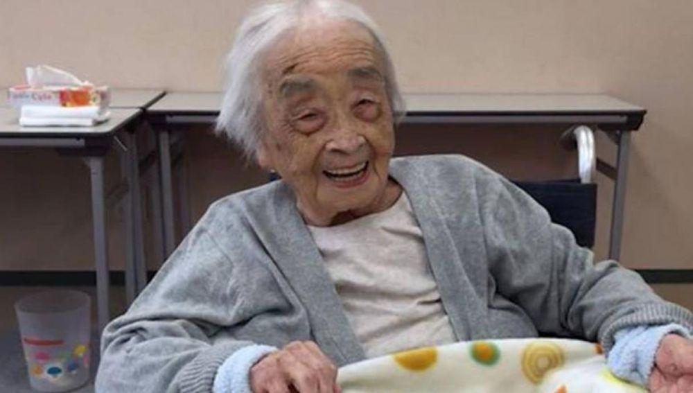 Nabi Tajima, la mujer más anciana del mundo