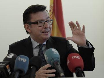 El ministro de Economía, Industria y Competitividad de España, Román Escolano