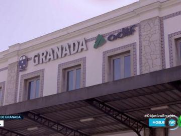 El Objetivo comprueba lo difícil que es viajar en tren a la ciudad andaluza