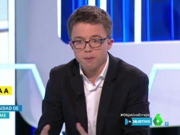 """Errejón responde a las comparaciones entre el 'mástergate' de Cifuentes con su caso: """"La Universidad de Málaga nunca me inhabilitó"""""""