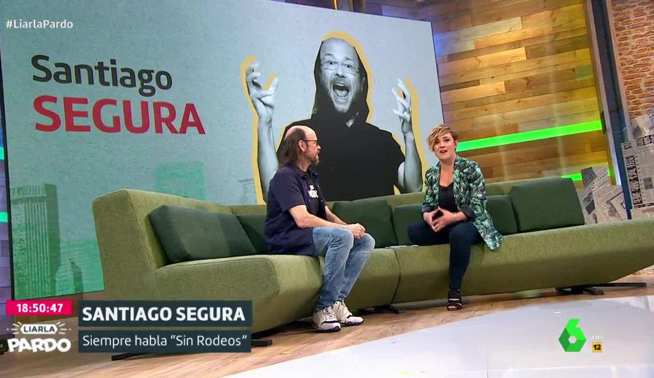 Cristina Pardo y Santiago Segura