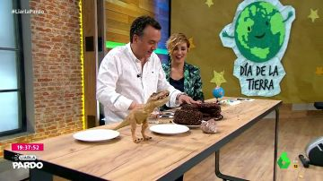 Roberto Brasero y Cristina Pardo