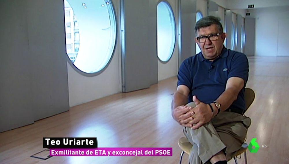 Teo Uriarte, exmilitante de ETA