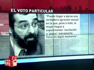 El voto particular del juez Ricardo González