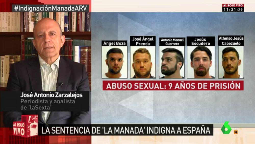 El periodista y analista de laSexta José Antonio Zarzalejos