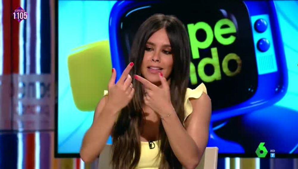 El accidente de Cristina Pedroche en el arranque de Zapeando