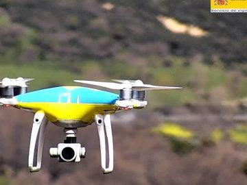 ¡Cuidado! Los drones para controlarnos funcionarán este puente de mayo