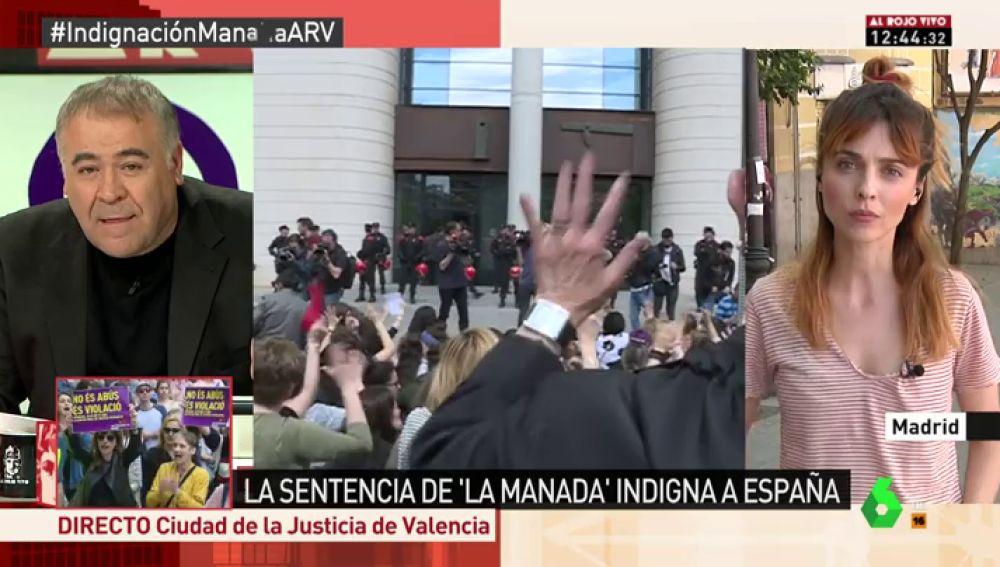 """Leticia Dolera: """"Basta ya de educarnos a nosotras en el miedo y la defensa, y eduquemos a los hombres en el respeto"""""""