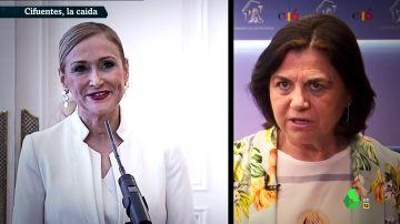 """""""Ha caído víctima de la regeneración democrática que reclamaba"""": los periodistas analizan la dimisión de Cifuentes"""