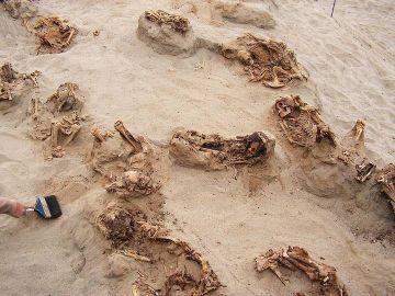 Los restos del que podría ser el mayor sacrificio de niños de la historia