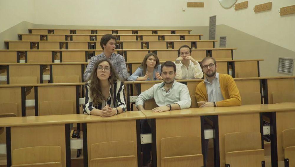 """Así siguió Expediente Marlasca la condena a 'La Manada' en directo con seis estudiantes de Derecho: """"Es una sentencia cobarde"""""""