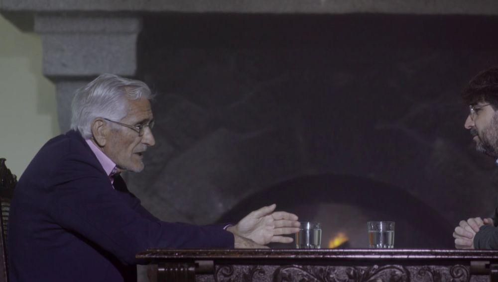 Rafael Vera con Jordi Évole