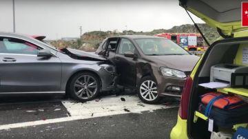 Imagen del accidente múltiple