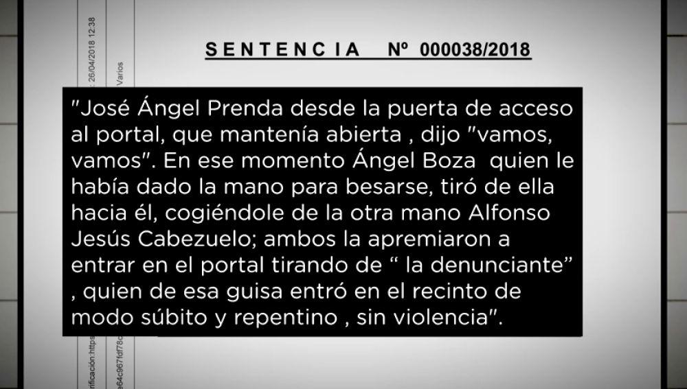Sentencia de 'La Manada'