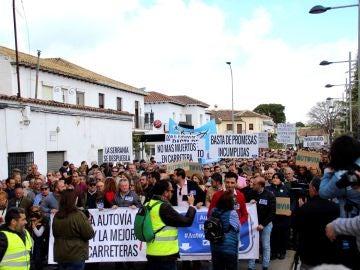Manifestación en Ronda, Málaga