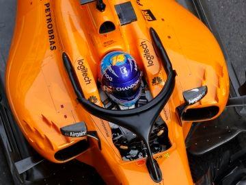 Fernando Alonso, en el GP de Azerbaiyán