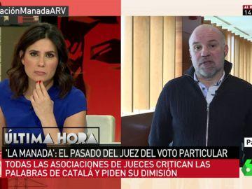 El portavoz de Juezas y Jueces para la Democracia, Ignacio González Vega