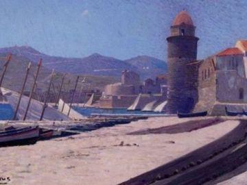 Le port de Collioure, de  Étienne Terrus