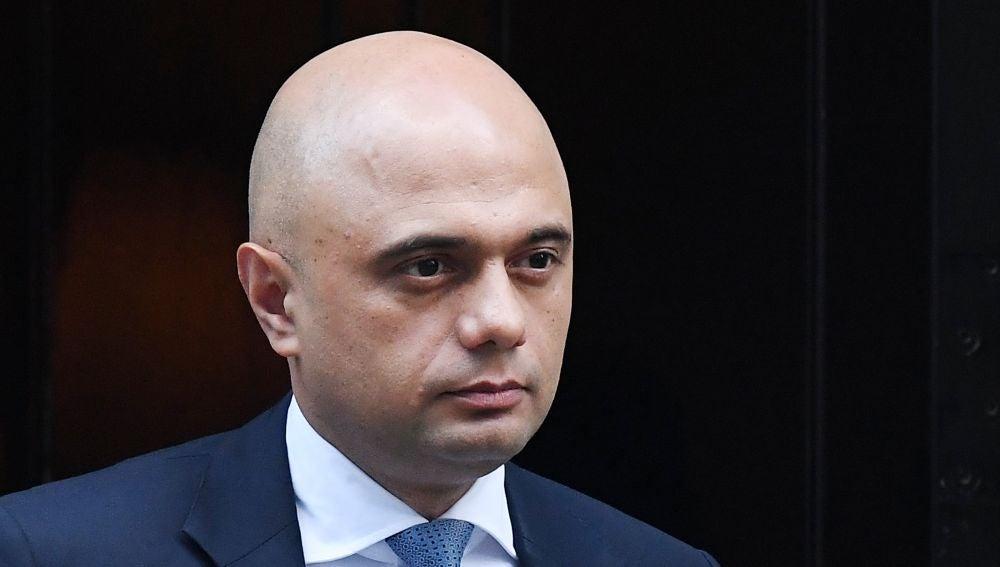 El, hasta ahora, ministro británico de Comunidades y Gobierno Local Sajid Javid (Archivo)