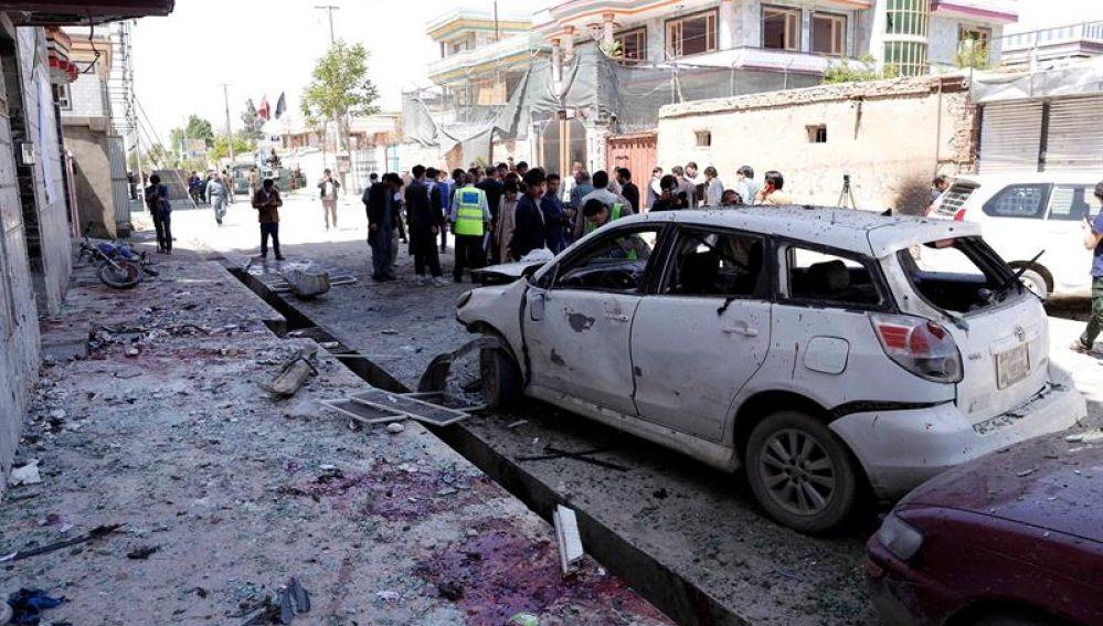 Una explosión en Kabul