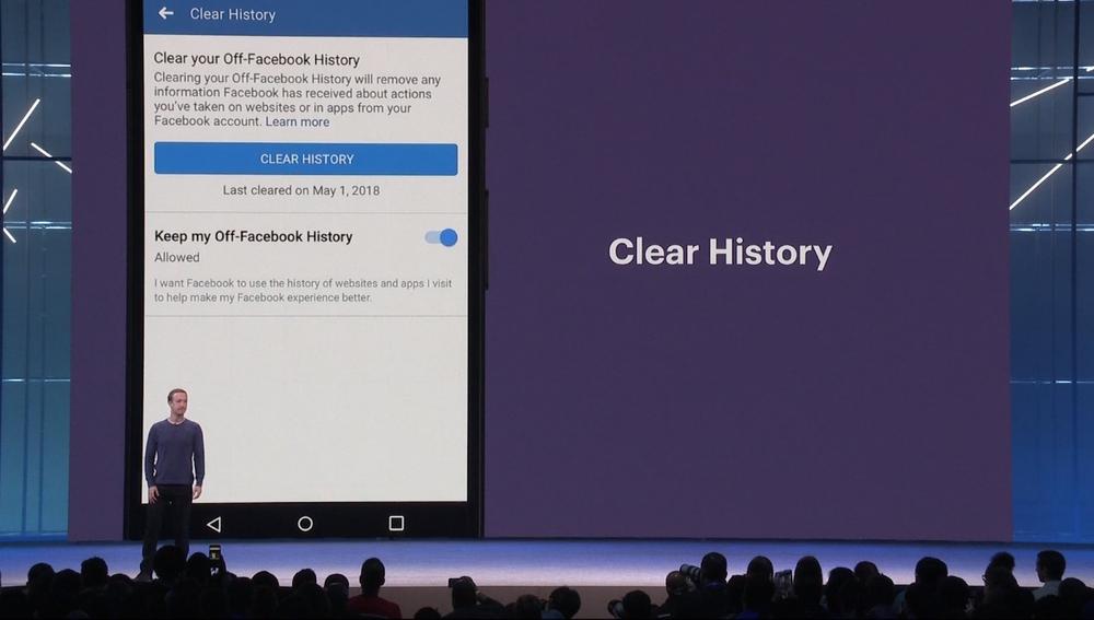 Zuckerberg en la conferencia de desarrolladores