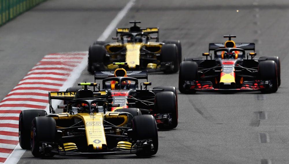 Un momento del GP de Azerbaiyán de esta temporada