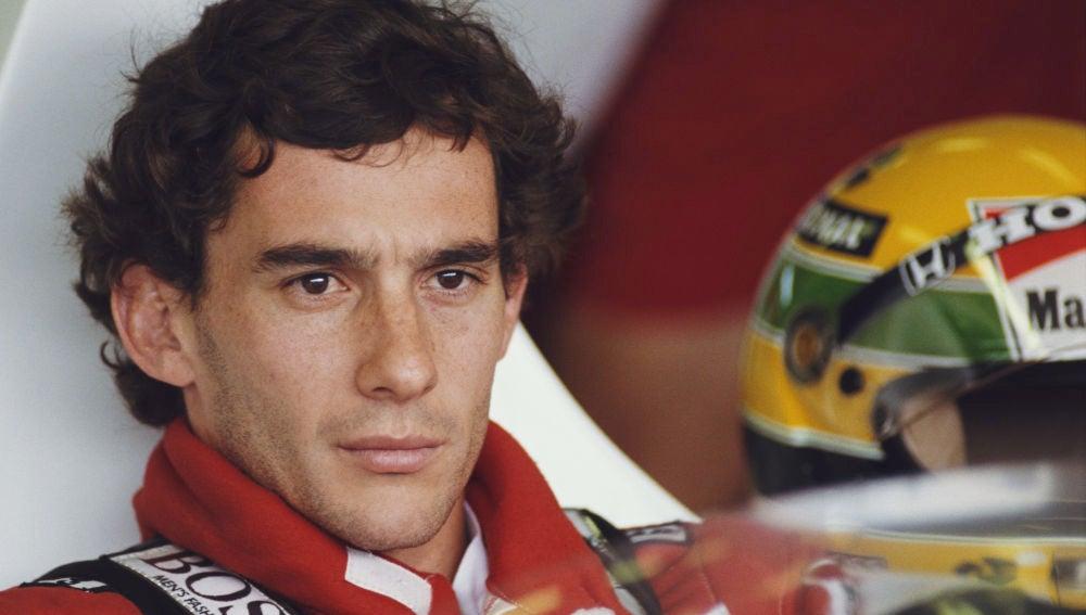 Ayrton Senna, en su época con McLaren