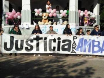 Manifestación en Chile por la violación a un bebé