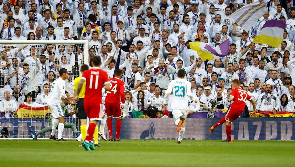 Kimmich define el que sería el 0-1 en el Santiago Bernabéu